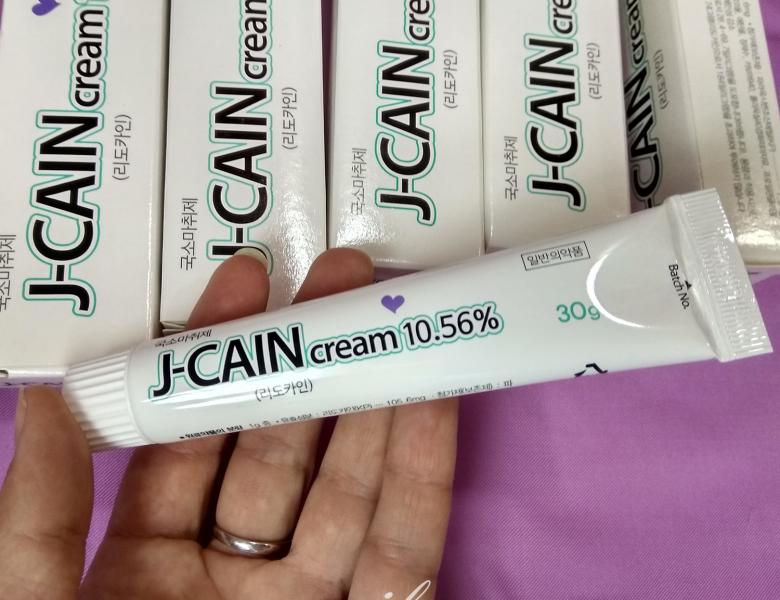 Лидокаин-крем J-caine 10.56%, крем -анестетик
